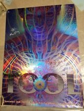 ALEX GREY TOOL Indianapolis Band & Artist SIGNED Gig Poster Print Mystic Eye