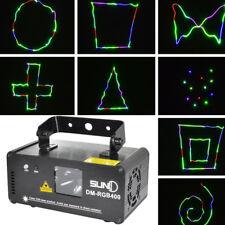 DMX512 RGB 400mW DMX DJ Party Stadiums PARTY Disco Lasereffcet Licht Show Bar
