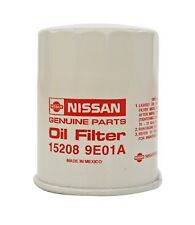Genuine Nissan Oil Filter 1995-2018 15208-9E01A With Washer Qty 1 OEM