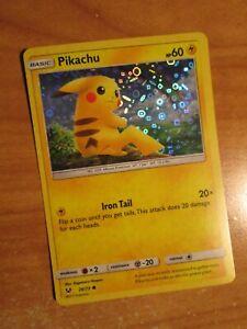 NM Pokemon Holo PIKACHU Card SHINING LEGEND Set 28/73 General Mills Cereal PROMO