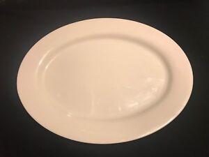 Martha Stewart White Large Oval Platter