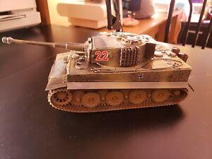 "1:35 Scale Built German Panzerkampfwagen VI ""Tiger I"" W/Zimmerit"