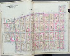 1904 WILLIAMSBURG, BROOKLYN NEW YORK E. BELCHER HYDE ATLAS MAP