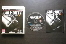 CALL OF DUTY BLACK OPS 2 II JEU Sony PLAYSTATION 3 PS3 Activision COMPLET suivi