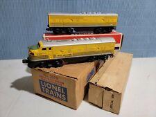 Lionel O Gauge 2379 Rio Grande AB Units with Master Carton OB