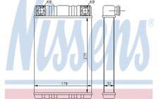 NISSENS Radiador de calefacción MERCEDES-BENZ CLASE C G SL CLK 72028