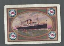 Swap Playing Cards 1 VINT WIDE  GREAT  NORTHERN  PACIFIC  STEAMSHIP CO  S97