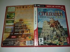 GAME CIVILIZATION III / 3 More Civ Than Ever pc game
