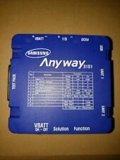 Samsung Anyway Single Cell Phone Test Jig w/ Cables S101. JUST BOX