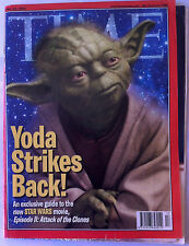 "Star Wars ""Time"" du 29/4/2002 + carte postale + autographe Steve Sansweet"