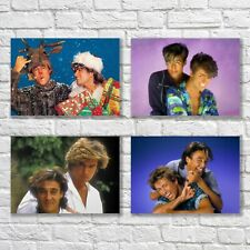 Wham! George Michael Poster A4 NEW Last Christmas Home Wall Decor