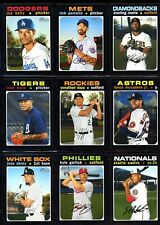 2020 Topps Heritage High Number Complete Master Set w/ SP's 285 Cards FREE SHIP