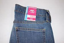 NWT OLD NAVY Size 00 Women's Flat Front Light Wash STRETCH The FLIRT Denim Jeans