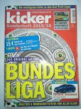 Kicker Sonderheft zur Bundesliga-Saison 2015/2016 mit Kulttabelle neuwertig