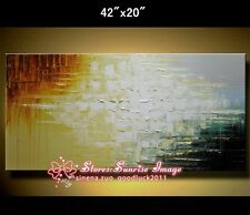 P1339B Hand made Abstract Oil Painting on canvas wall decor Art /NO Frame