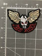 Skull Wings Patch Free Riders Independent Motorcycle Club FRIMC Biker Halloween