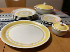 Vintage Franciscan Dinnerware in Hacienda Gold - 10 pieces