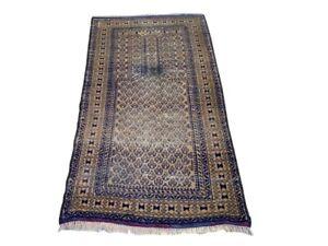 Antique Afghan Rug, Turkish Rug, Turkoman Rug, Hand Knotted Sheraz Rug.
