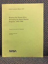 KEEPING THE DREAM ALIVE By Thomas J. Lewin and V.K. Narayanan - 1990