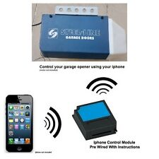 Iphone Remote Control Your Steel-Line OL4 Garage Door Opener 2211-l HT4 HT3 BHT4