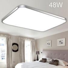 48W LED Deckenleuchte Deckenlampe Panel Badlampe Wohnzimmer Dimmbar Küche
