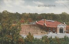 """*New York Postcard-""""Small Deer House""""  /NY Zoological Park/"""