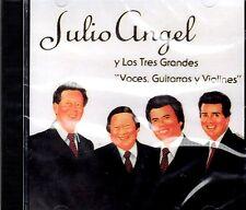 JULIO ANGEL Y LOS TRES GRANDES- GUITARRAS Y VIOLINES-CD