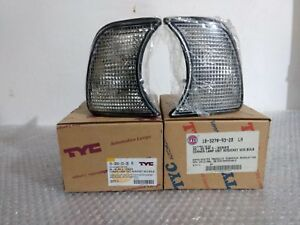 BMW 5 E34 CLEAR TURNING SIGNALS, LEFT AND RIGHT SIDE BRAND TYC NEW...