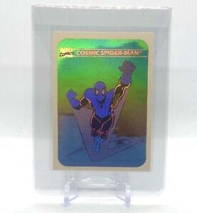 1990 Impel Marvel Universe Series 1 #MH1 Cosmic Spider-Man Holo ! PRISTINE !
