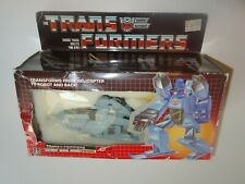 G1 Transformers Whirl Deluxe autobot Complete MIB in Box 1985