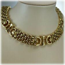 9ct Gold Panthère style Collarette necklace