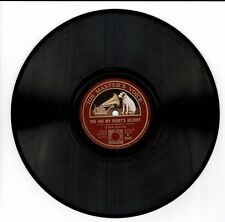 """DEREK OLDHAM You Are My Heart's Delight / Patiently Smiling 78rpm 10"""" HMV DA"""