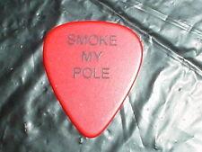 WARRANT Smoke My Pole Jerry Dixon 1990 Cherry Pie Concert Tour RaRe GUITAR PICK