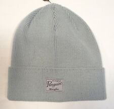 Penguin Signature Gray Knit Cuff Beanie Skull Cap Adult One Size NWT