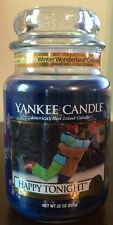 Yankee Candle HAPPY TONIGHT 22 oz Jar Winter Wonderland Collection