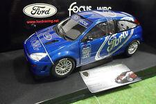 FORD  FOCUS WRC 1999 présentation au 1/18 AUTOart 89910 voiture miniature rallye
