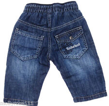 Baby Boy ~ TIMBERLAND ~ Classic Elastic Waist Mid Rinse Jeans 100% Authentic