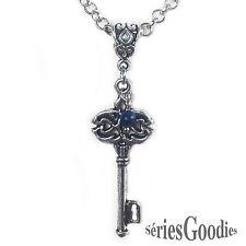 bijou celtique gothique steampunk Collier chaîne Pendentif La clef du bonheur
