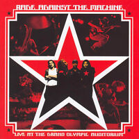 RAGE AGAINST THE MACHINE Live At The Grand Olympic Auditorium CD BRAND NEW