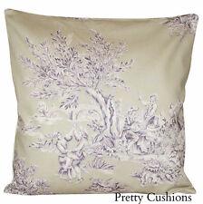 Toile Square Decorative Cushions