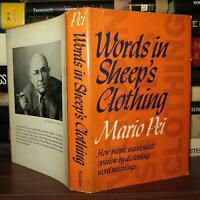 Pei, Mario WORDS IN SHEEP'S CLOTHING  1st Edition 2nd Printing