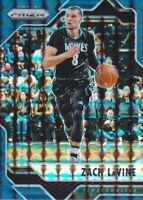 2016-17 Panini Prizm Mosaic Blue #85 Zach LaVine Minnesota Timberwolves