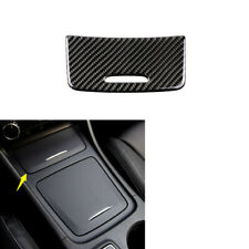 Carbon Fiber Console Cigarette Lighter Trim For Mercedes-Benz GLA CLA Class13-18
