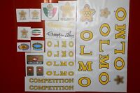 OLMO 70's full set decals  , stikers
