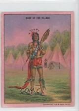 1910 Hassan Indian Life in 60's T73 #DUVI Dude of the Villiage Card 1j0