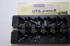 Stellram carburo Inserto - g217018500 (p20) 12 PLAQUITAS