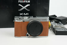 Fujifilm X-M1 Aps-c mirrorless camera fuji x lenses brown