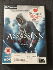 Assassin's Creed PC ONLY Game, No DLC. PC DVD-ROM, 2nd Hand. Phenomenal