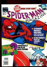 SPIDERMAN MAGAZINE 5(8.0)(VF)TWO NEW COMIC STORIES-SPIDERMAN-X-MEN(b029)
