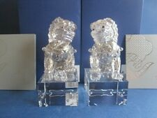 Swarovski Guardian lion male & lion female 5058881 & 5058882